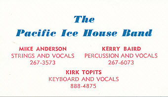 The Pacific Ice House Band
